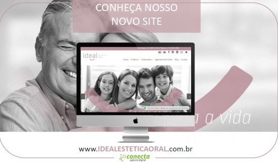 Site Ideal Estética Oral