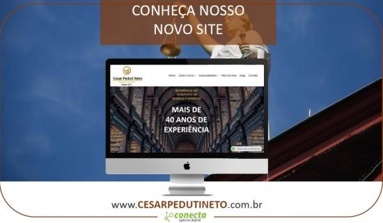 Site Cesar Peduti Neto